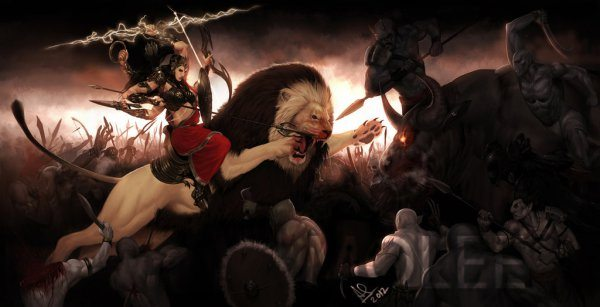 illustrations-of-indian-gods-that-will-blow-away-your-mind-durga-goddess-of-war